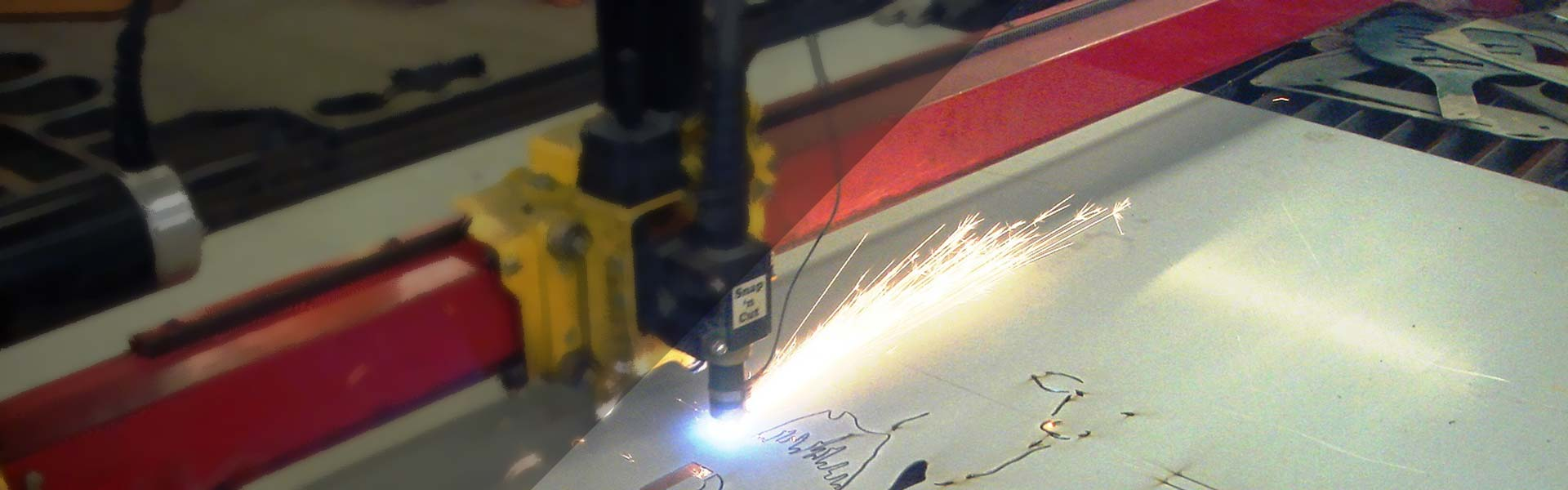 On our CNC, we can cut bespoke parts, but also can create art